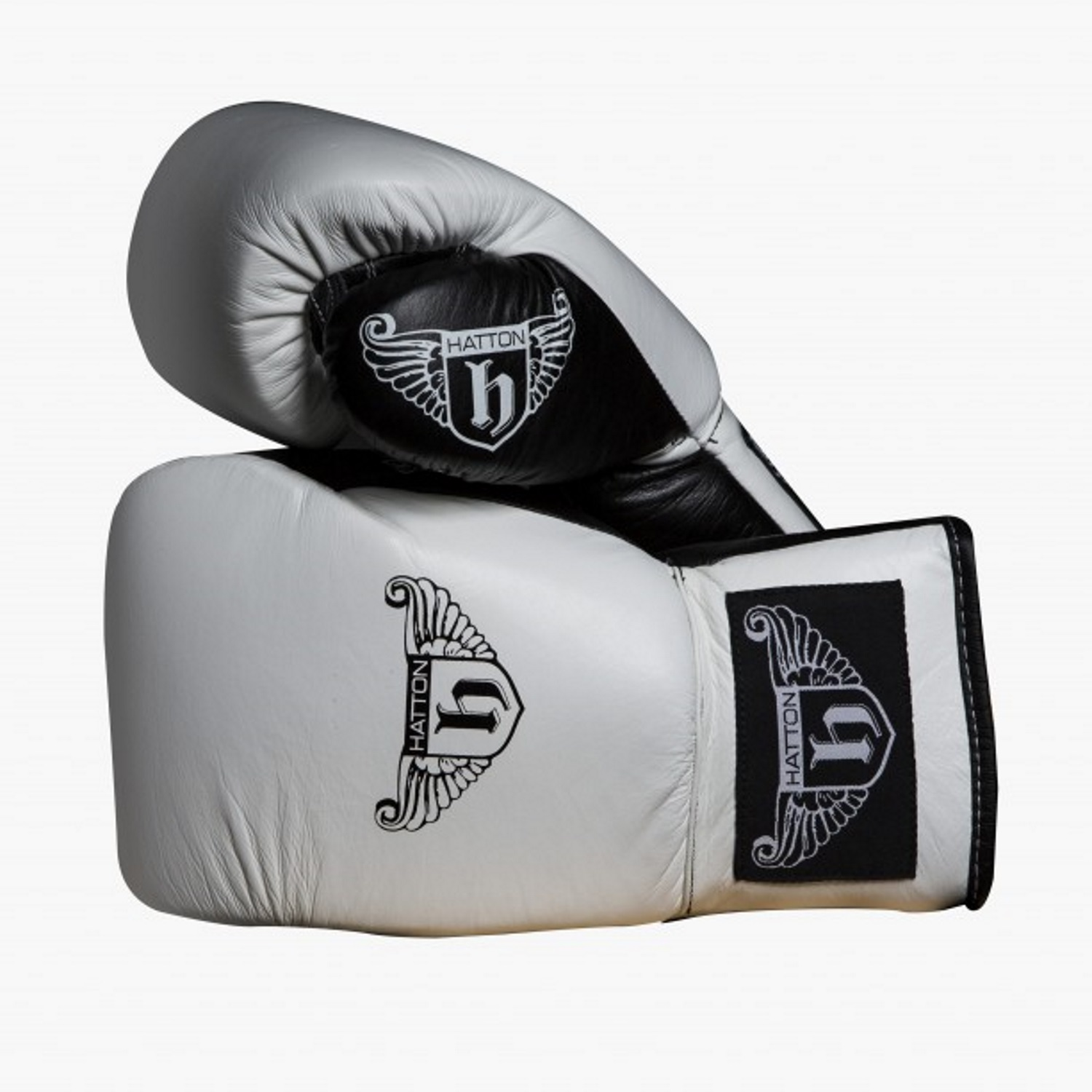 Hatton Pro Sparring Leather Lace Up Gloves (Pair)