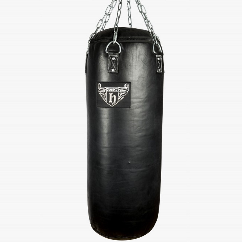 Hatton Heavy Leather Punch Bag (100cm x 40cm)
