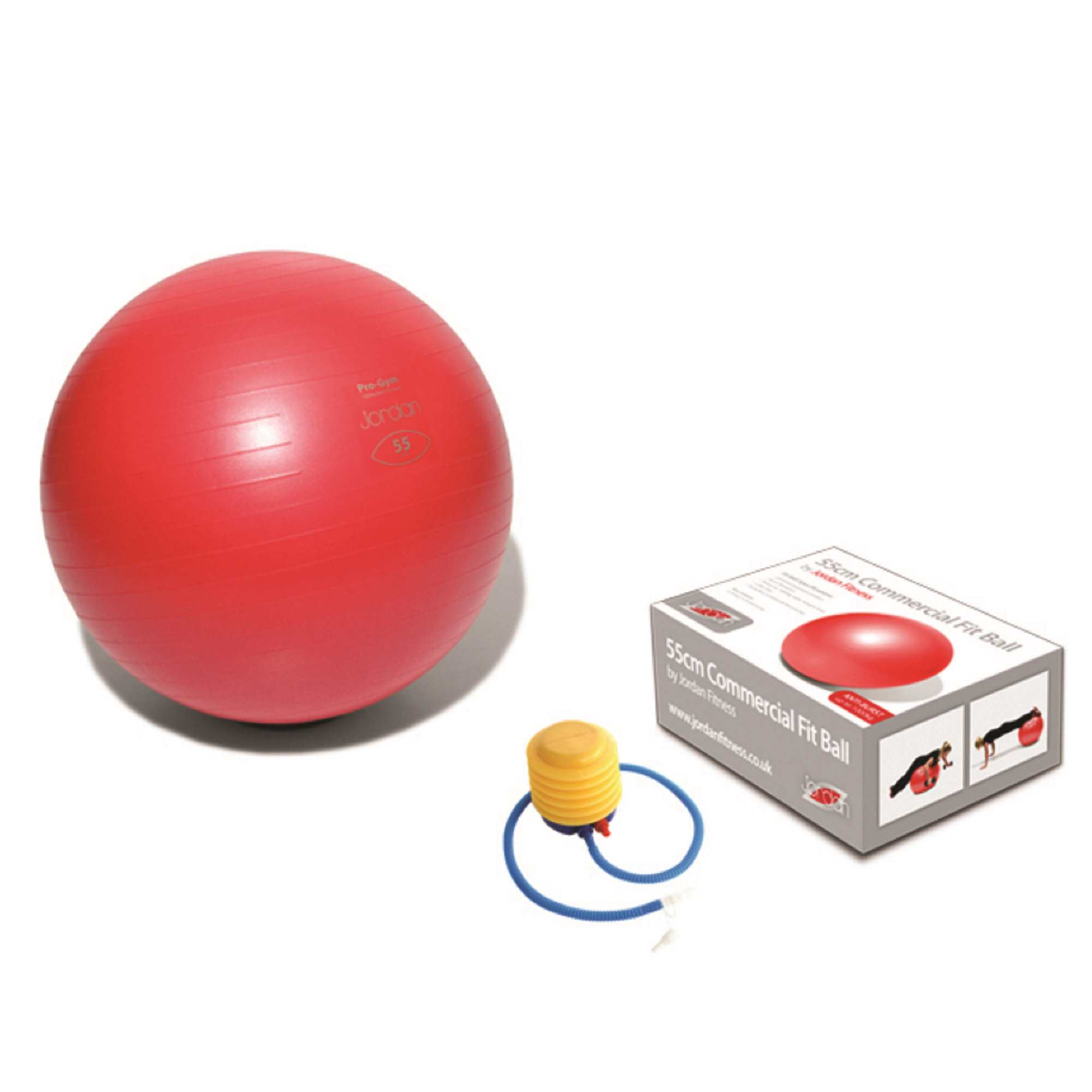Pro Fit Balls (Anti-Burst) 55cm Red