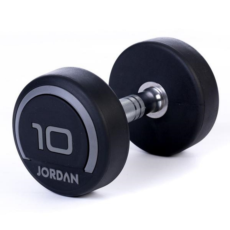 Jordan Premium Rubber Dumbbells - 10kg