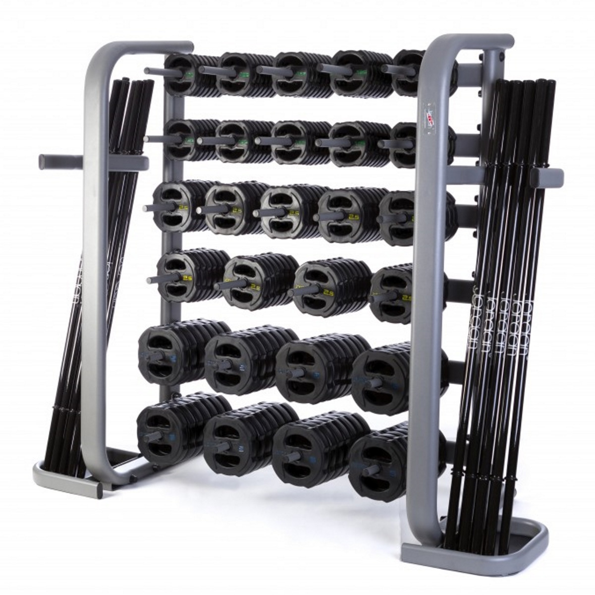 30 x Jordan Ignite V2 Rubber Studio Barbell Sets & Rack