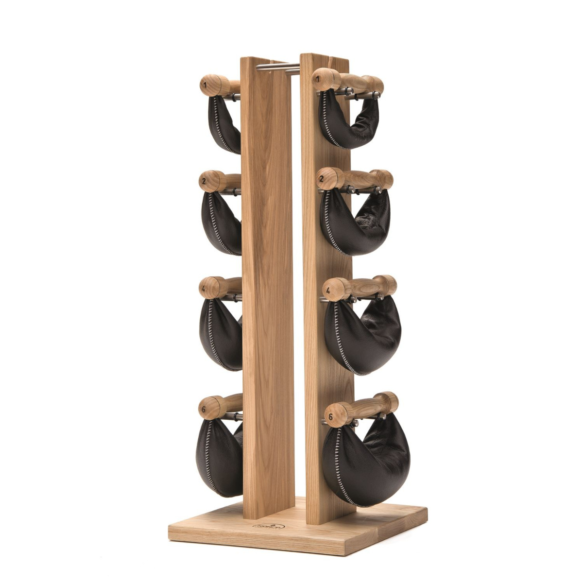 NOHrD Swing Tower Set Ash (Natural) with Swing Bells