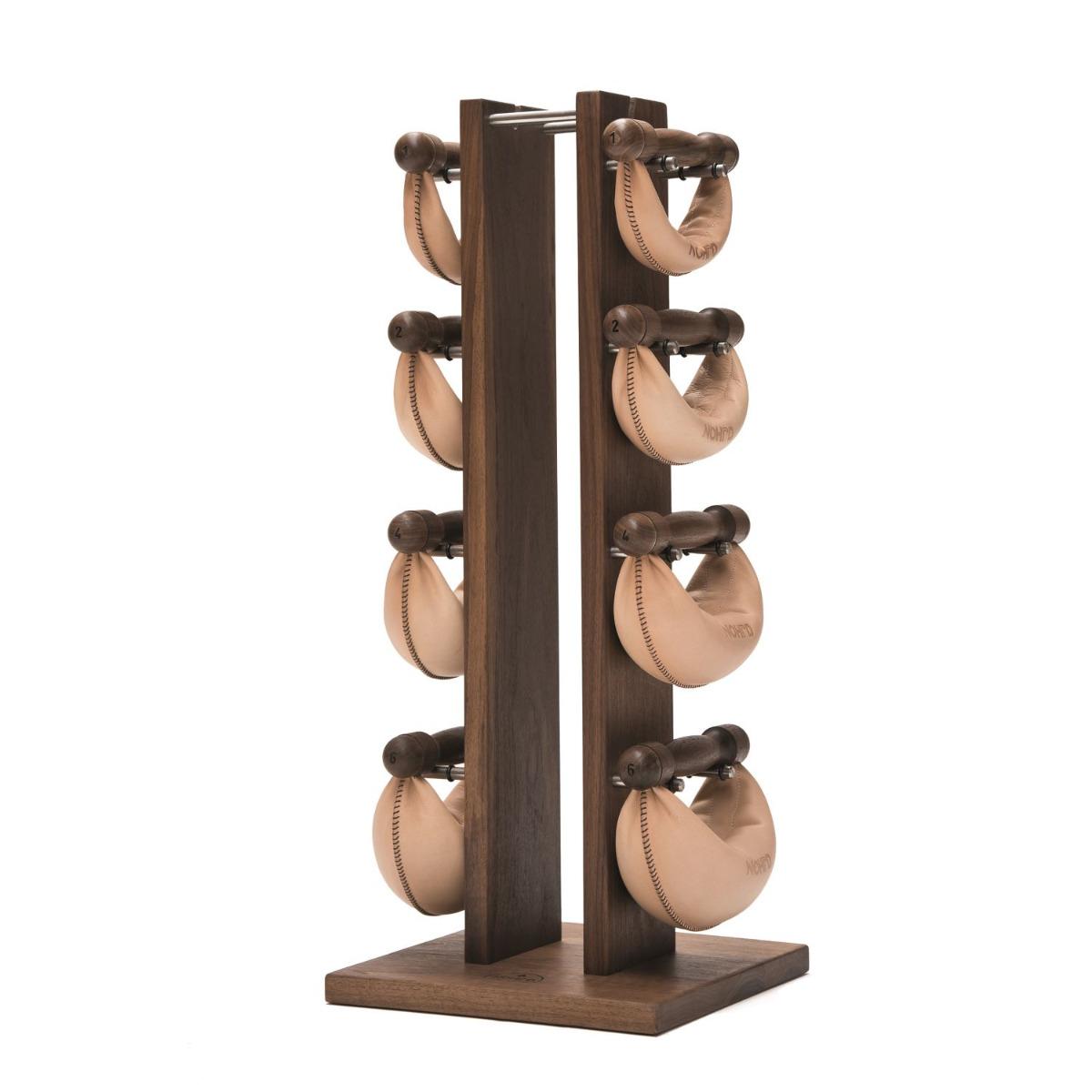 NOHrD Swing Bells & Tower Set - Walnut (Classic)