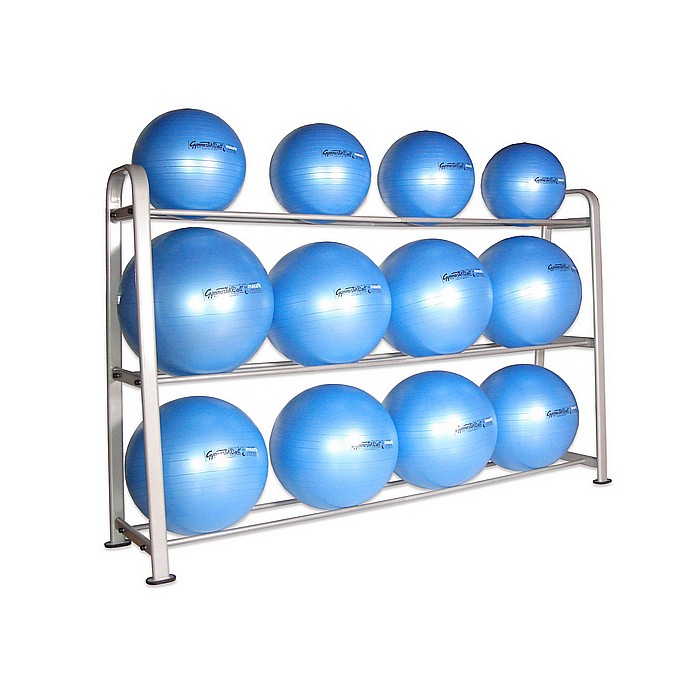 Stability Ball Storage Rack (Holds 12) From Netfit.co.uk