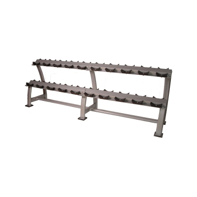 Horizontal Saddle Dumbbell Rack (10 Pairs)