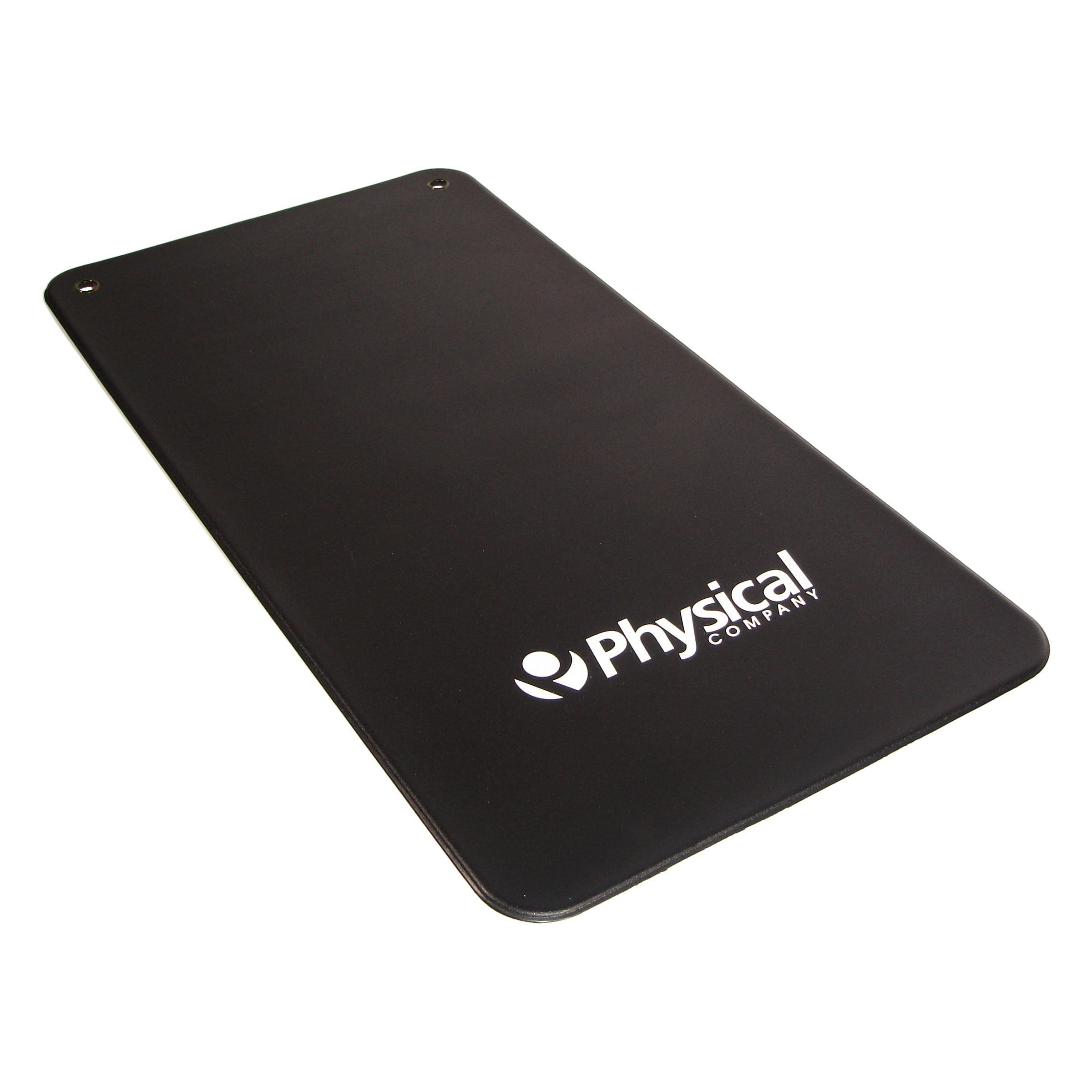 9.5mm Vinyl Exercise Mat - Black (With Eyelets)