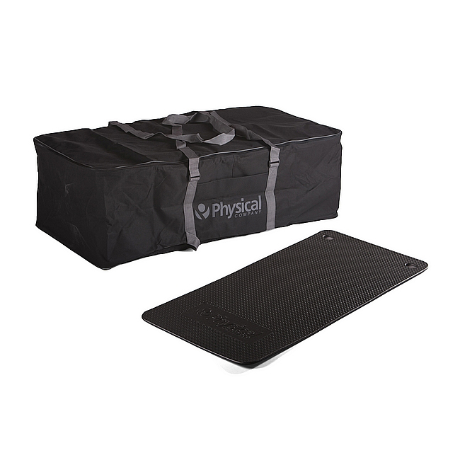 30 Supasoft Small Exercise Mats & Carry Bag (Charcoal)