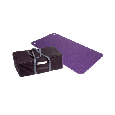 30 Supasoft Small Exercise Mats & Carry Bag (Purple)