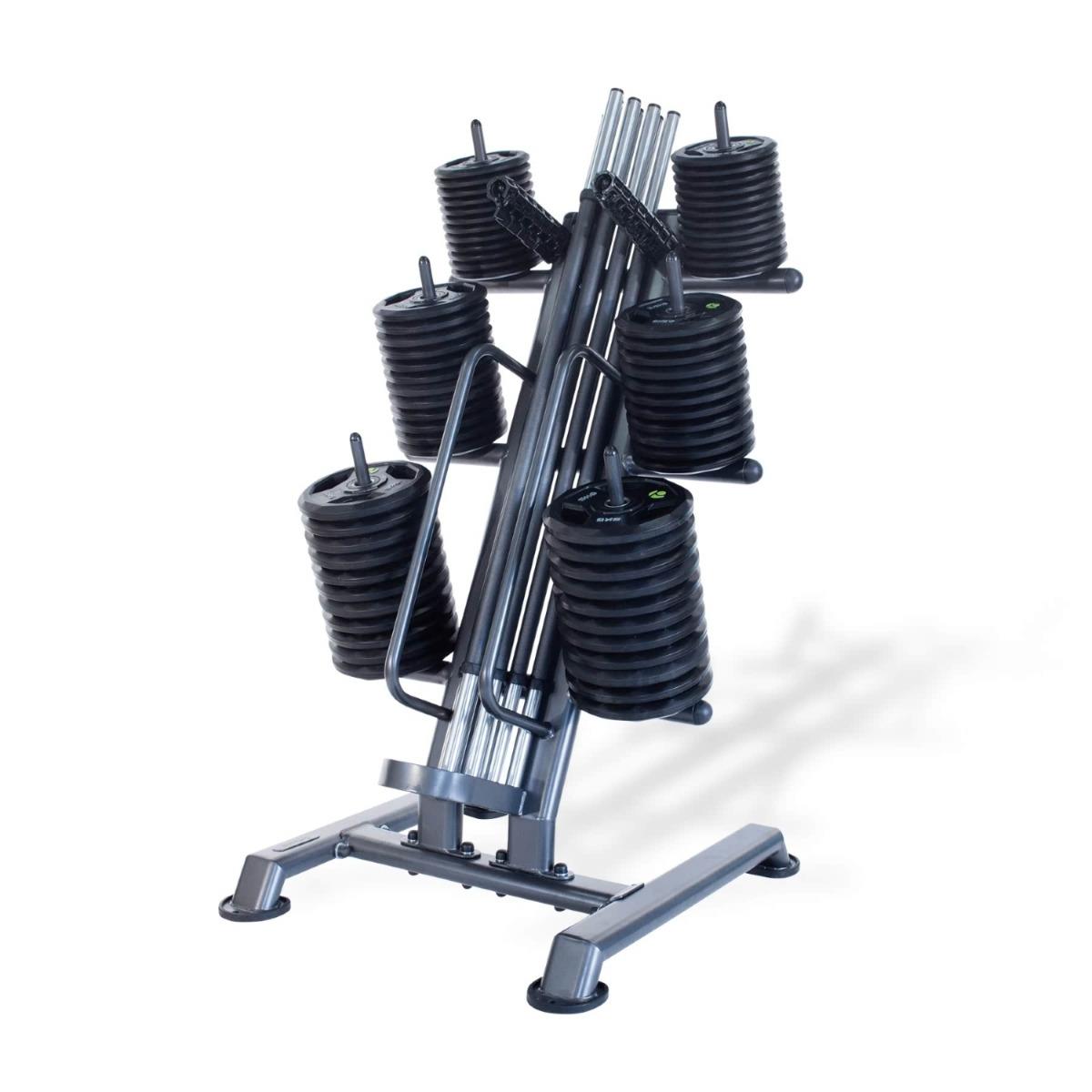 12 x Studio PU Pump Sets & Rack (Carbon Bar / Black Discs)
