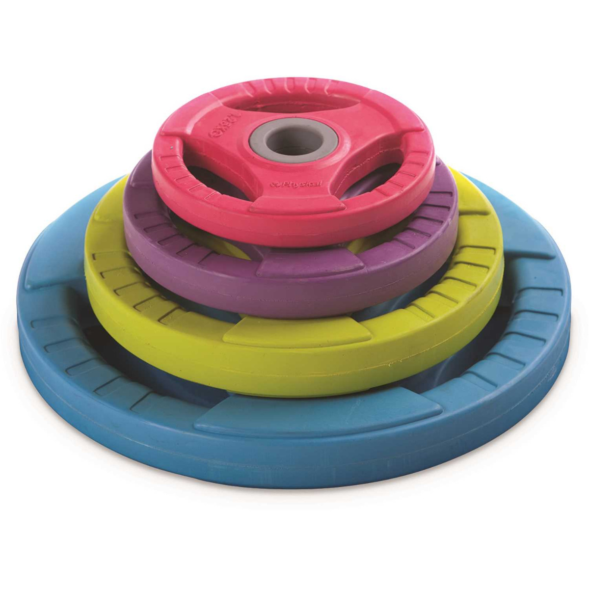 2.5kg Rubber Weight Discs 30mm - Purple