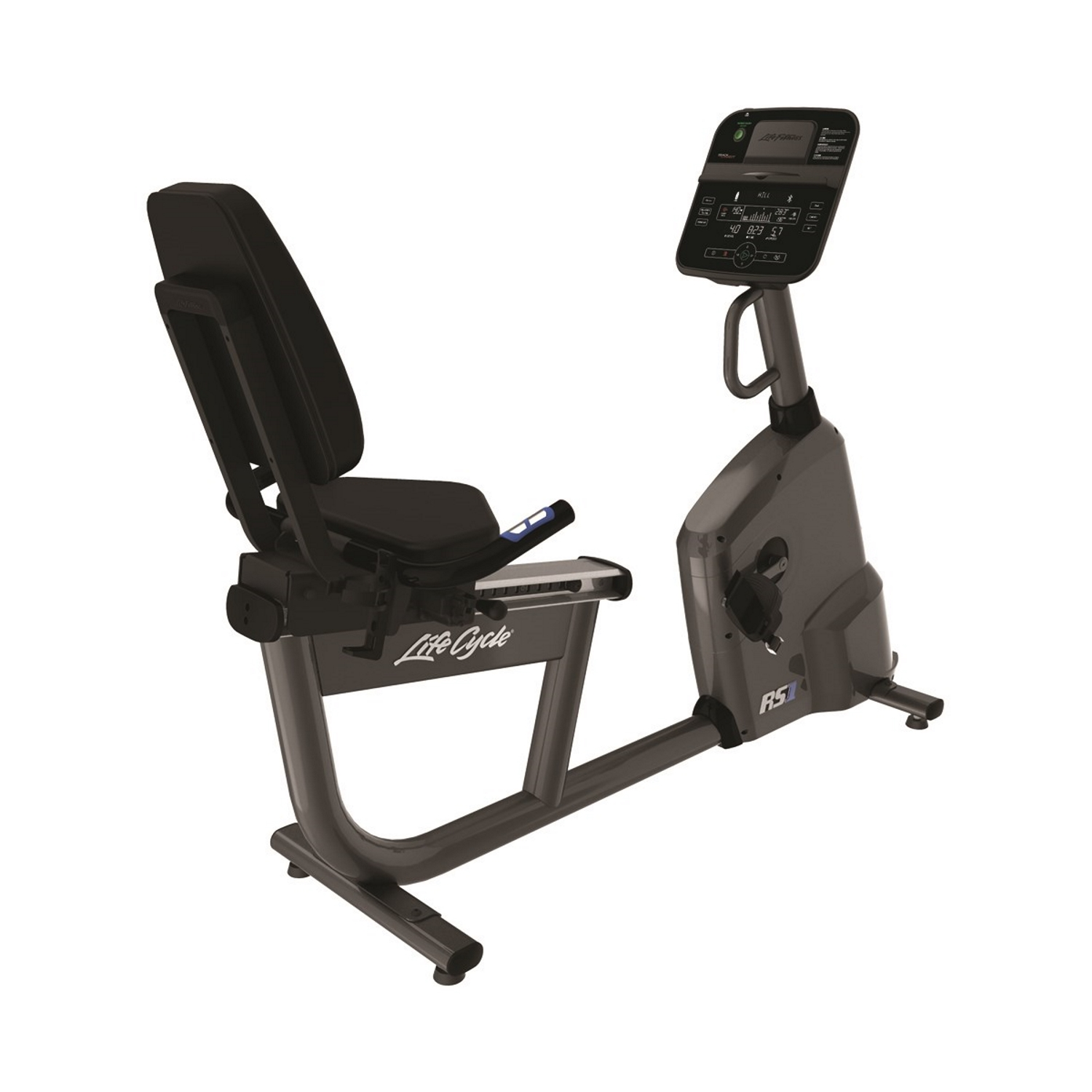 Life Fitness RS1 LifeCycle Recumbent Bike (Track Connect Console)