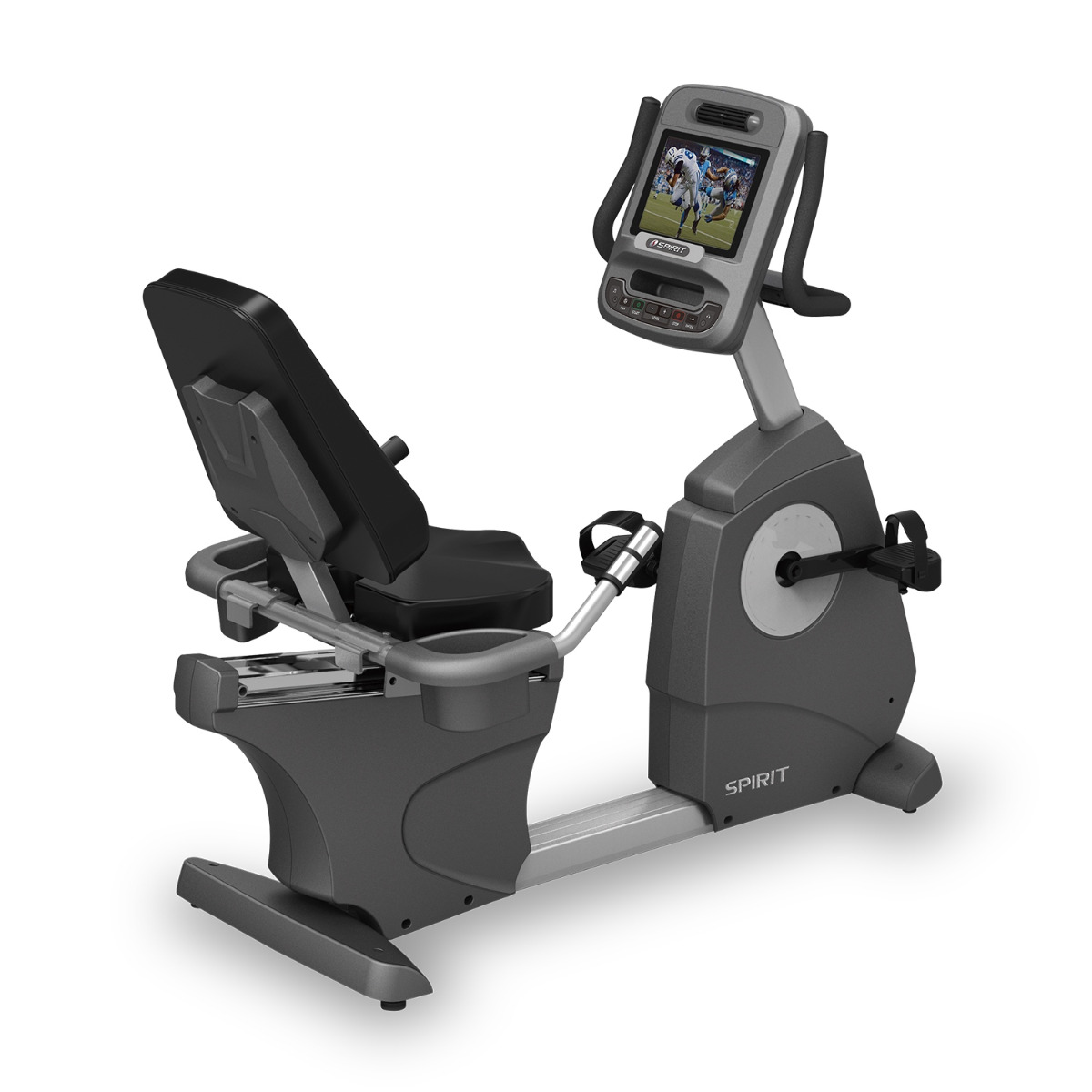 Spirit Fitness CR900 Recumbent Bike (TFT Console)