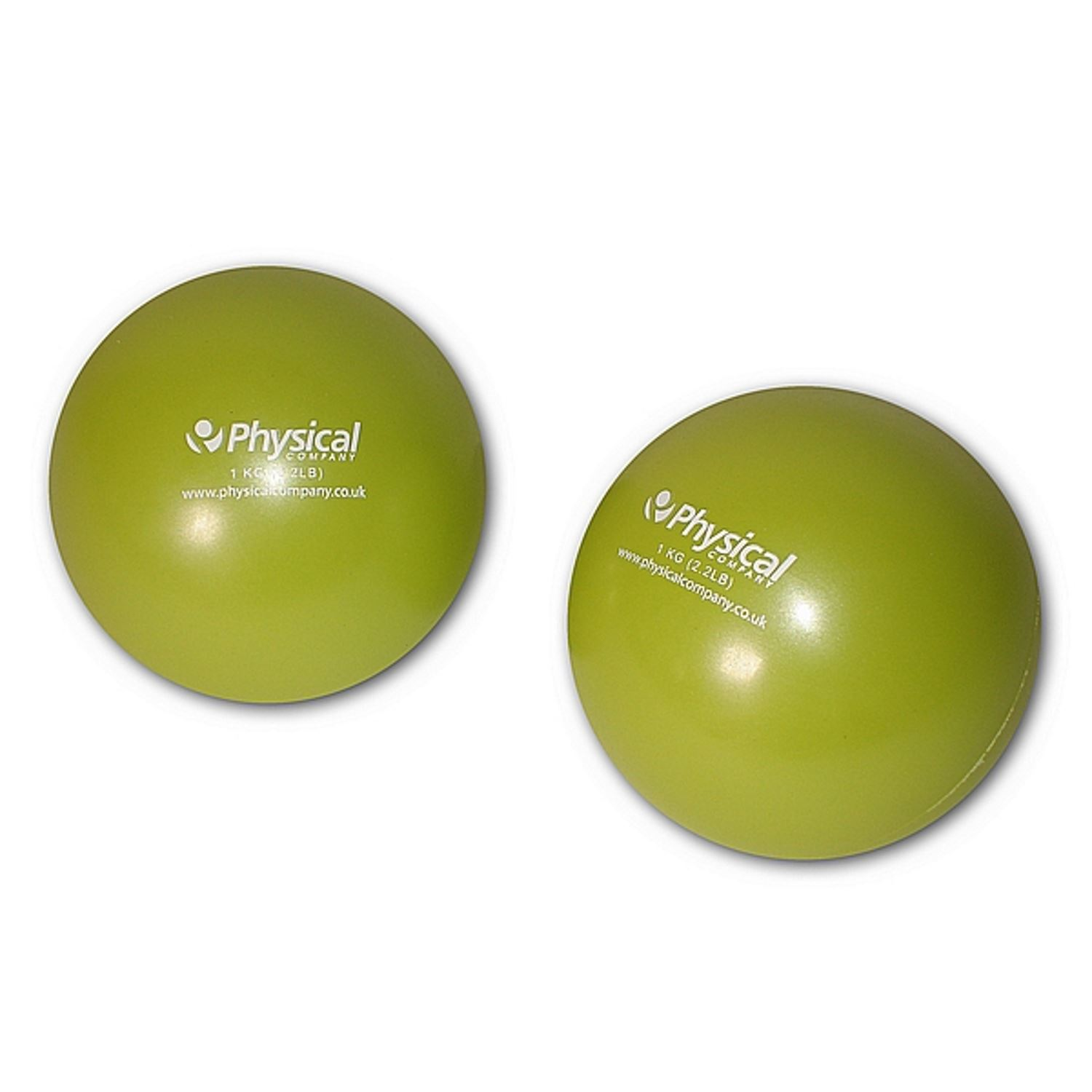 Weighted Soft Pilates Ball (2 x 1kg)
