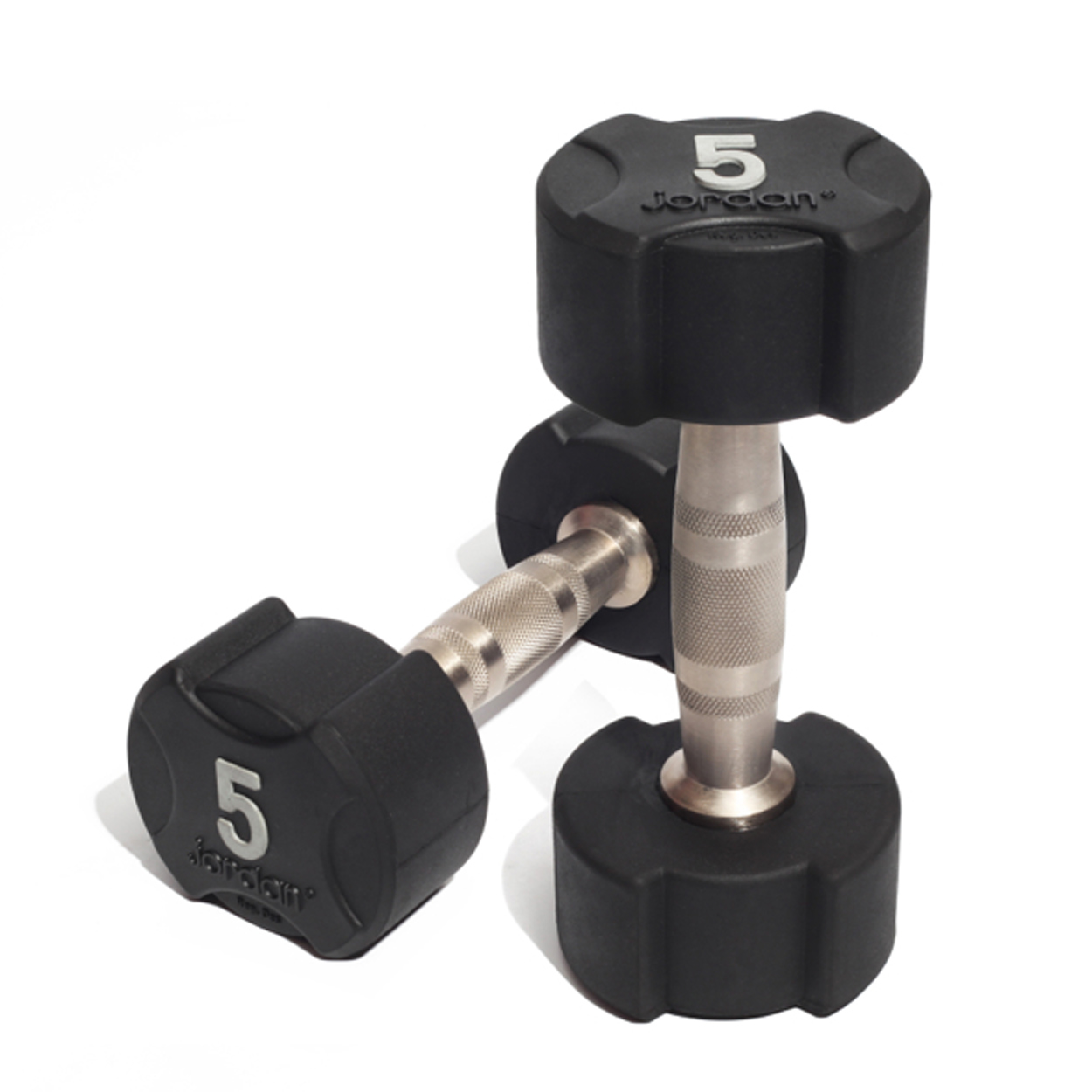 Jordan Ignite Premium Rubber Dumbbells 5kg
