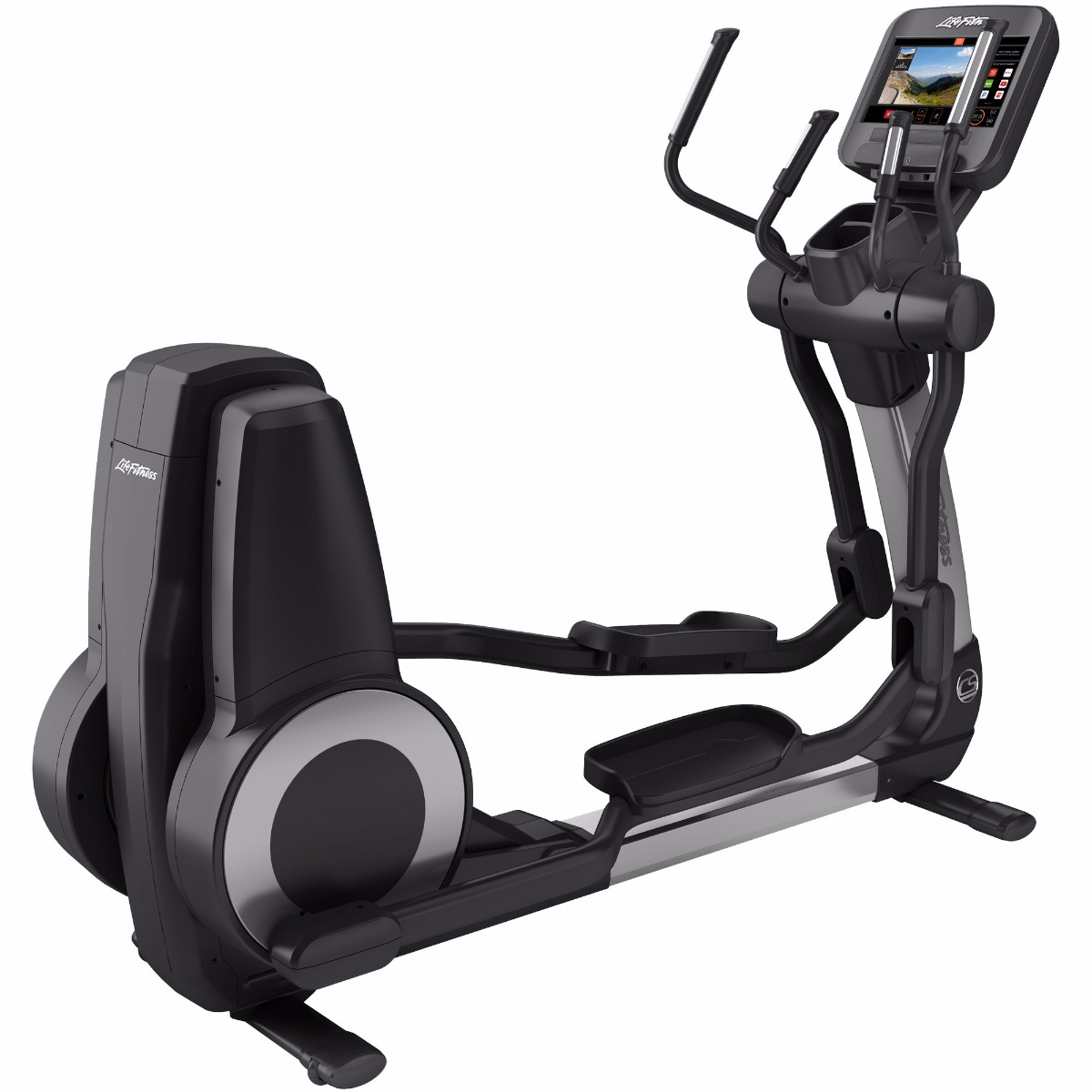 Life Fitness Platinum Club Series Cross Trainer (Discover SE3) Arctic