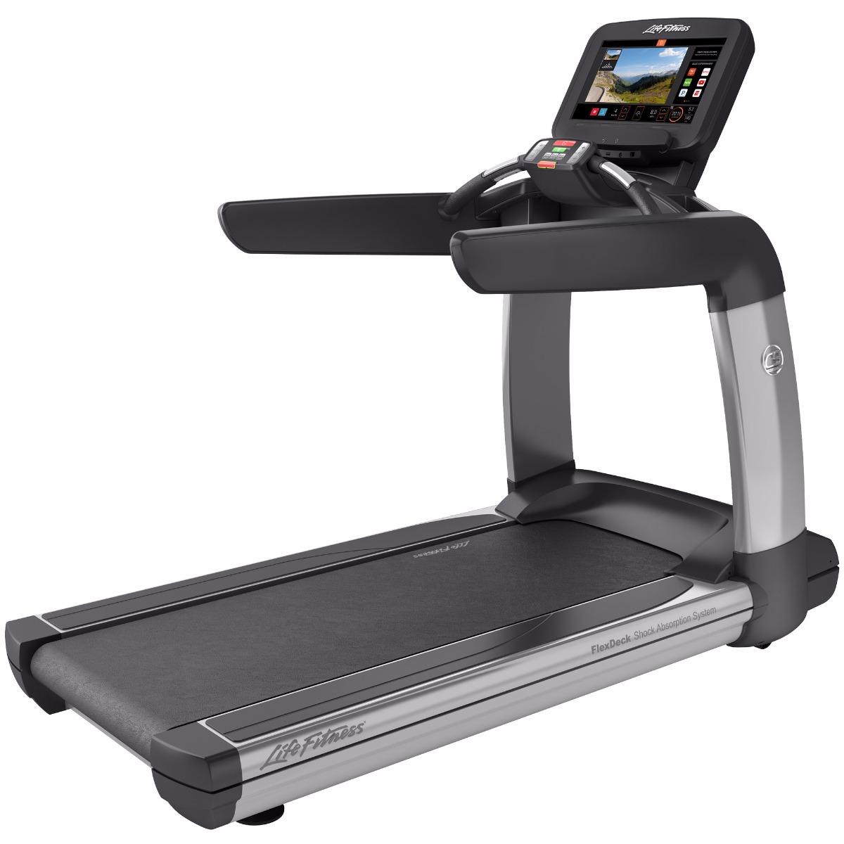 Life Fitness Platinum Club Series Treadmill (Discover SE3) Arctic