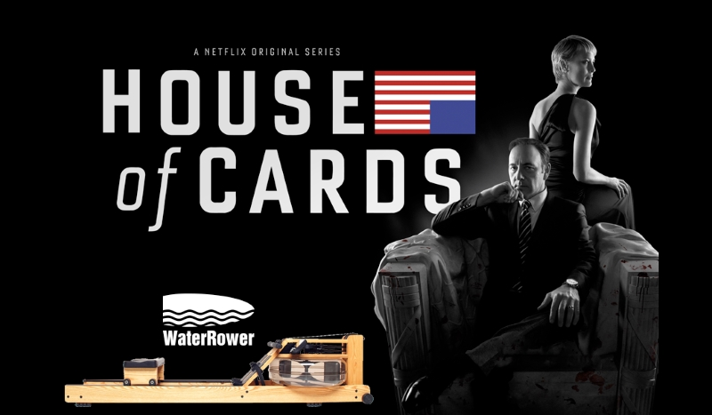 Which Rowing Machine does Frank Underwood use in House Of Cards?