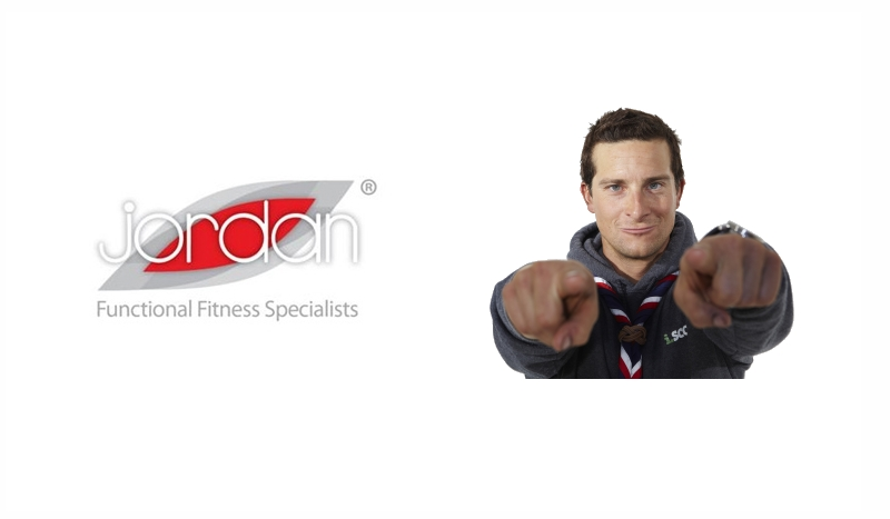 Bear Grylls Teams Up With Jordan Fitness