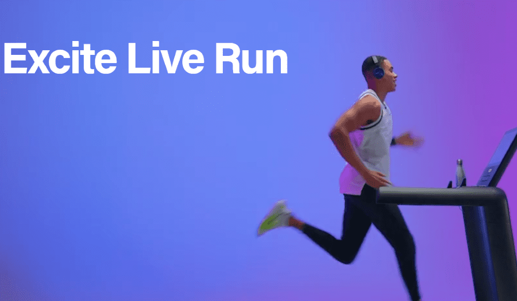 technogym excite live run