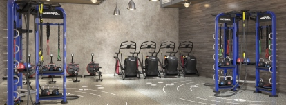 commercial gym
