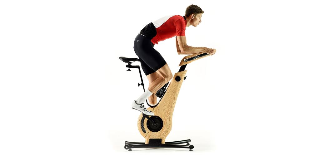 man spinning