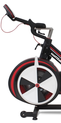 front of watt bike